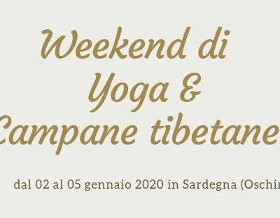 Yoga e campane tibetane in Sardegna, gennaio 2020