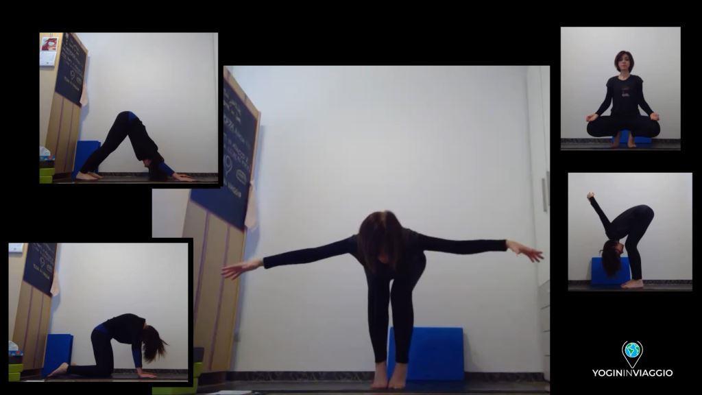 Yoga live con Nancy seconda settimana