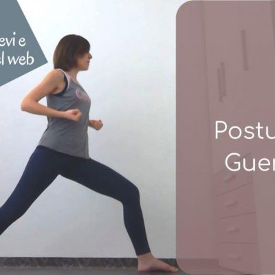 Postura del Guerriero, mobilità del bacino