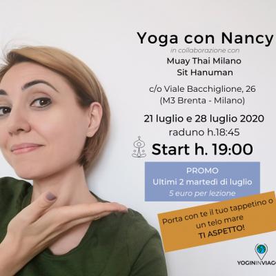 Promo Yoga di luglio a Milano