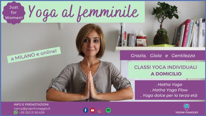 Yoga al femminile a domicilio e online