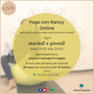 Yoga online e interattivo anti-covid19